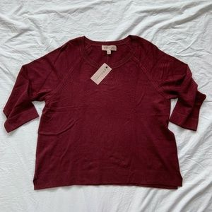 NWT Philosophy Cropped Sweater